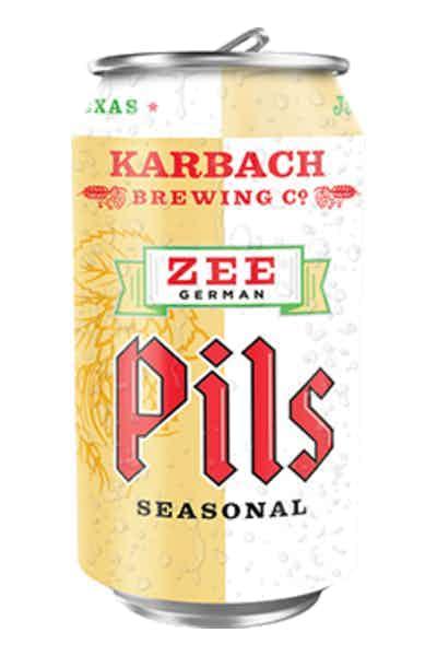 Karbach Brewing Co. Zee German Pils