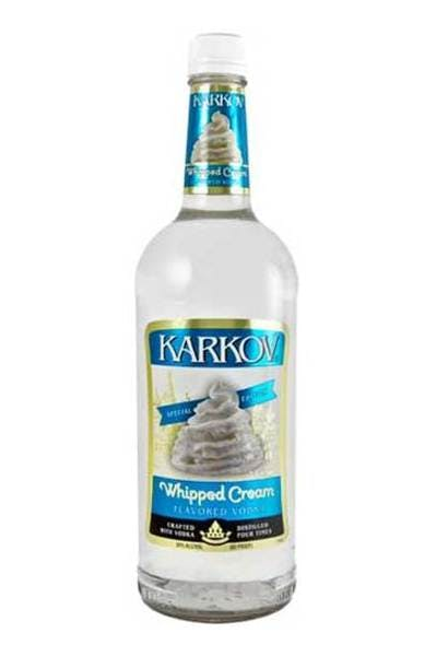 Karkov Whipped Cream Vodka