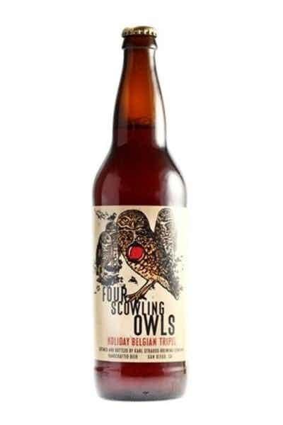 Karl Strauss Four Scowling Owls
