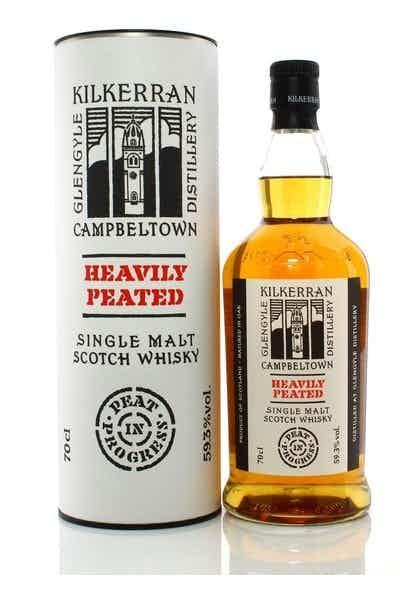"Kilkerran ""Heavily Peated"" Single Malt Scotch Whisky"