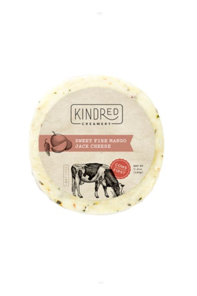 Kindred Creamery Sweet Fire Mango Jack Round Cheese