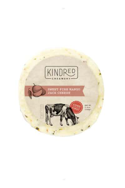 Kindred Creamery Sweet Fire Mango Jack Round Cheese