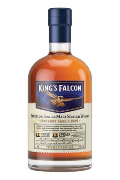 King's Falcon Double Cask Single Malt Scotch