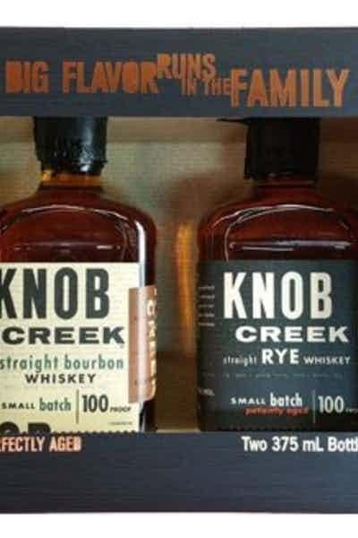 Knob Creek Bourbon & Rye Gift