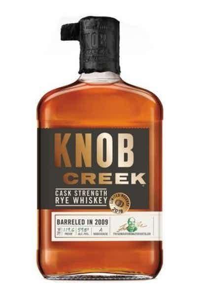 Knob Creek Cask Strength Rye
