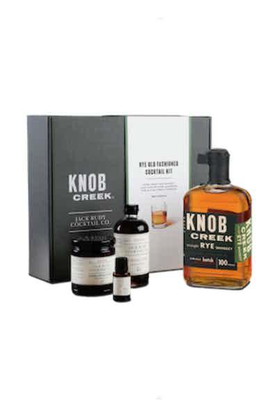 Knob Creek Rye Whiskey Cocktail Kit Gift Set