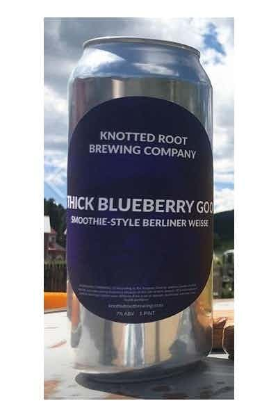 Knotted Root Thick Blueberry Goo