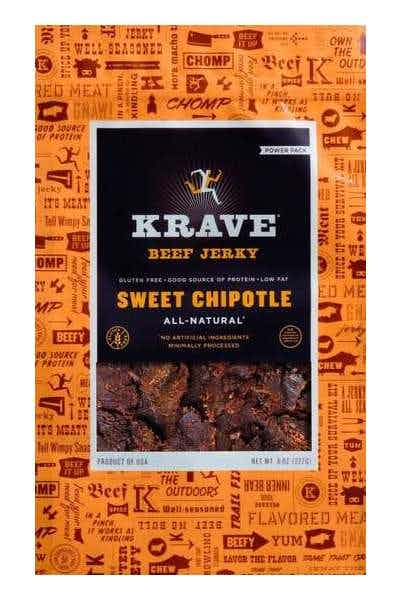 Krave Sweet Chipotle Beef Jerky