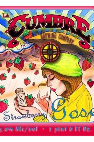 La Cumbre Strawberry Gose