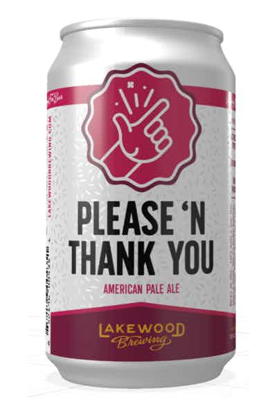 Lakewood Brewing Co. Please 'N Thank You Pale Ale