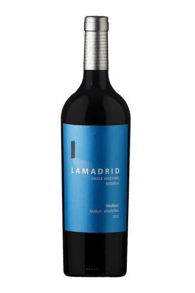 Lamadrid Single Vineyard Reserva Malbec