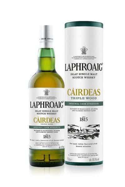 Laphroaig Cairdeas Triple Wood