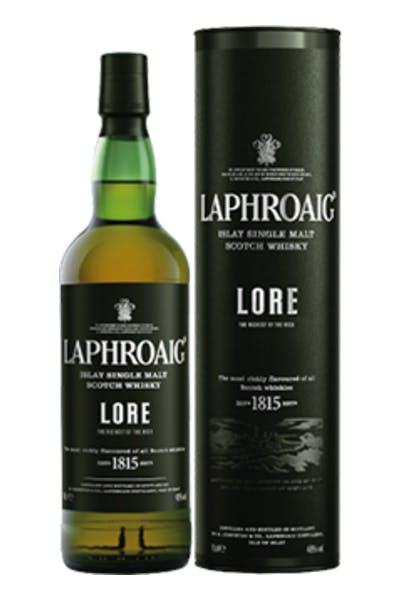 Laphroaig Lore Islay Single Malt Scotch Whiskey