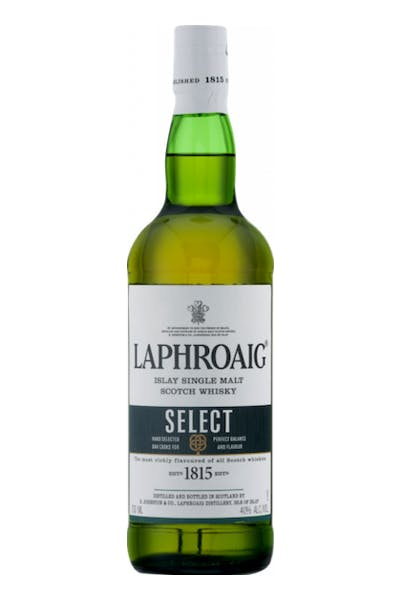 Laphroaig Select Islay Single Malt Scotch Whiskey