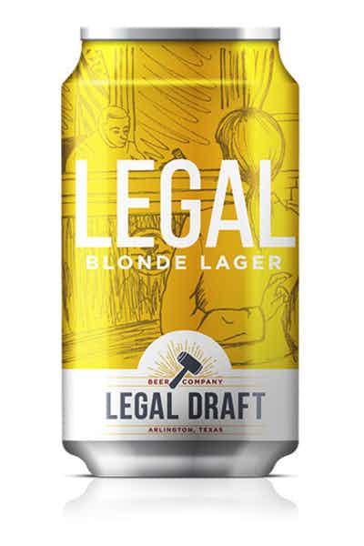 Legal Draft Legal Blonde Lager