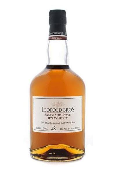Leopold Bros Maryland-Style Rye Whiskey