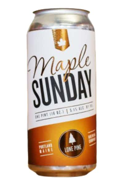Lone Pine Brewing Maple Sunday
