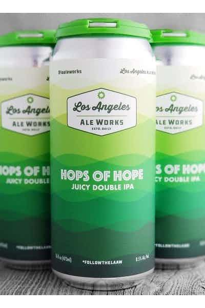 Los Angeles Ale Works Hops Of Hope