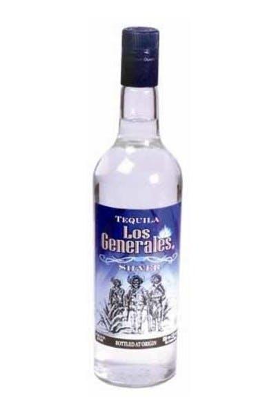 Los Generales Silver Tequila