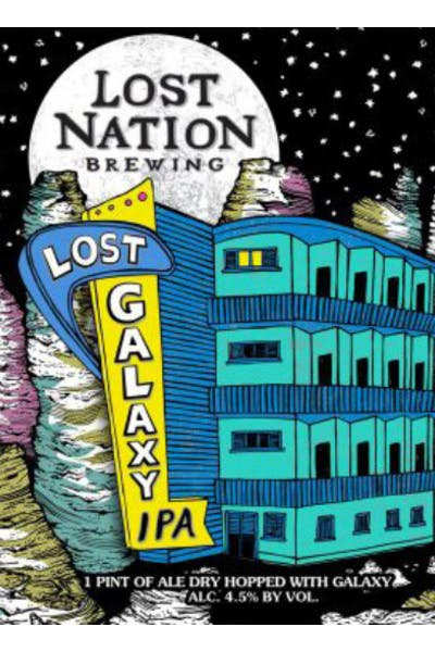 Lost Nation Galaxy IPA