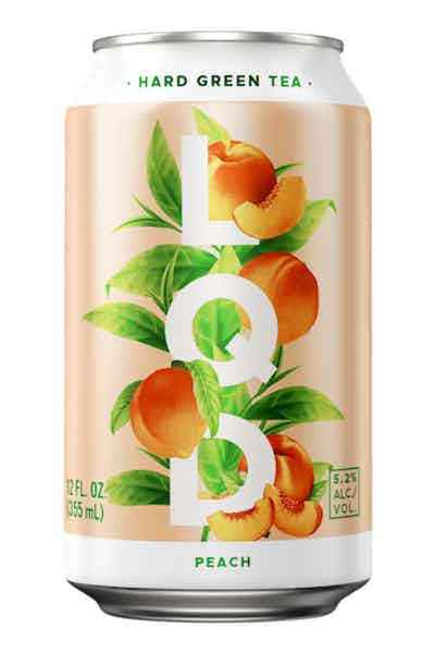 LQD Hard Peach Green Tea