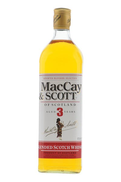 Maccay & Scott 3 Yr Blended Scotch Whisky