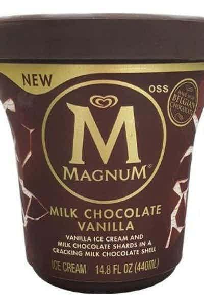 Magnum Milk Chocolate Vanilla Tub