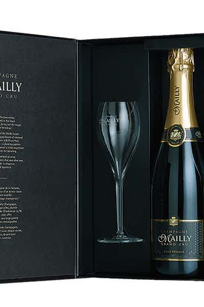 Mailly Brut Reserve Gift With 2 Glasses