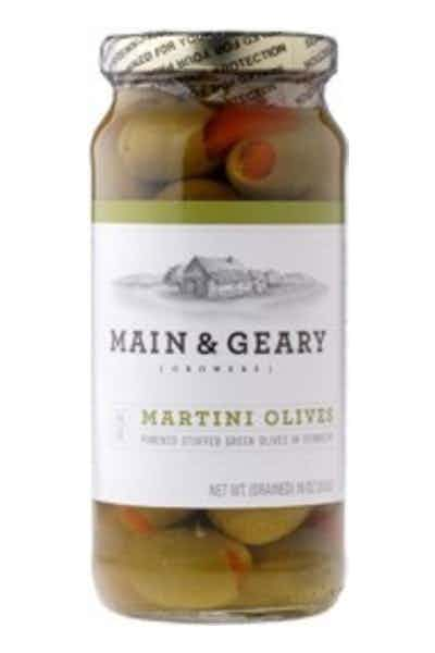 Main & Geary Martini Olives