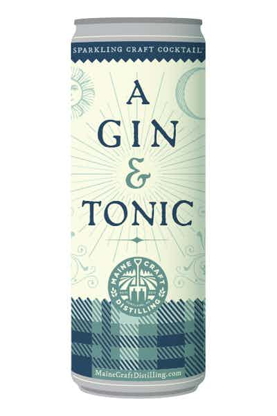 Maine Craft Distilling Gin & Tonic