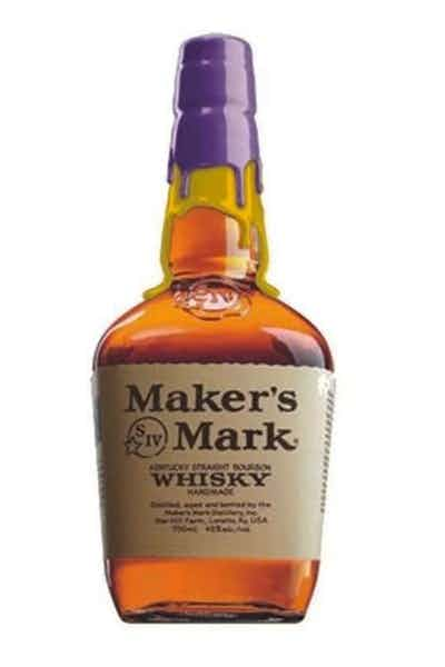 Maker's Mark Los Angeles Lakers Purple And Gold Limited