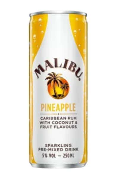 Malibu Ready-To-Drink Rum And Pineapple