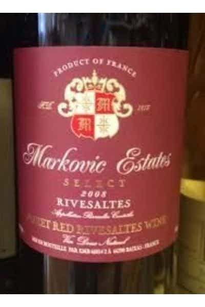 Markovic Estates Rivesaltes Sweet Select