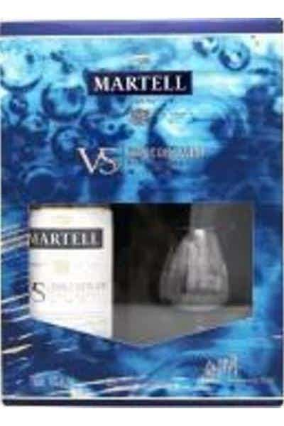 Martell Cognac VS Gift Set With 2 Glasses