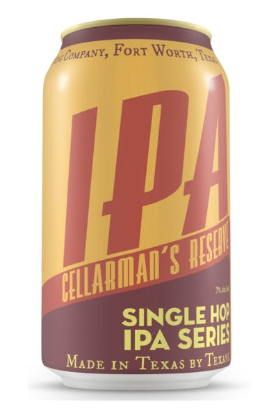 Martin House Brewing Company Cellarman's Reserve IPA