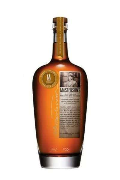 Masterson's French Oak Barrel Finished 10 Year Old Straight Rye Whiskey