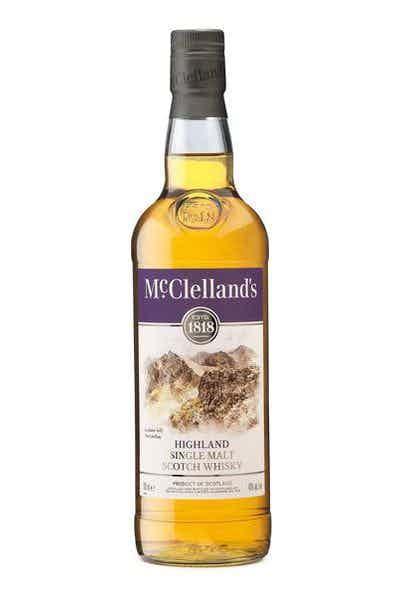 McClelland's Highland Single Malt Scotch Whiskey