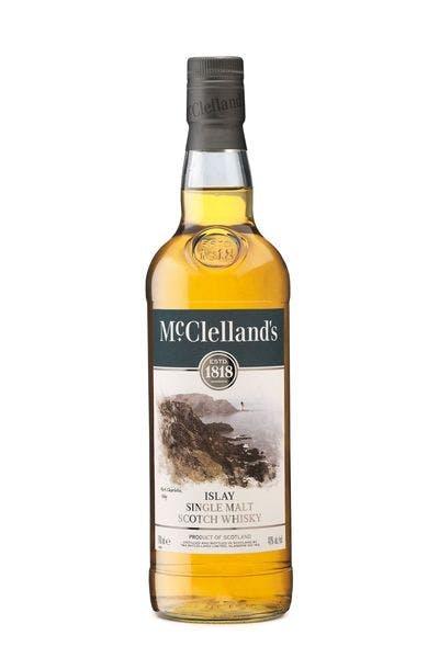 McClelland's Islay Single Malt Scotch Whiskey