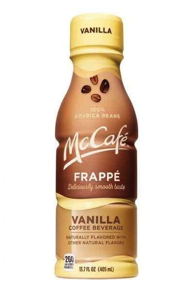 McDonald's McCafe Frappe Vanilla