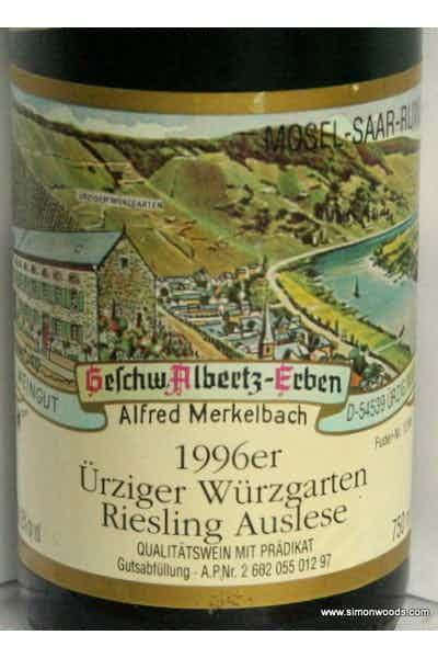 Merkelbach Urzinger Wurzgarten Riesling Auslese