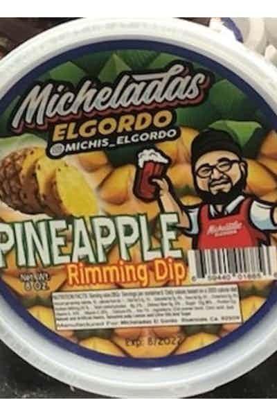 Micheladas El Gordo Pineapple Rimming Dip