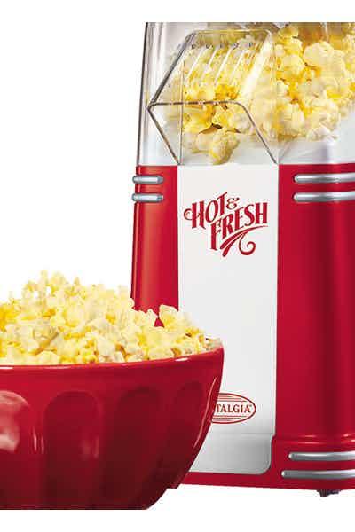 Mini Retro Hot Air Popcorn Maker