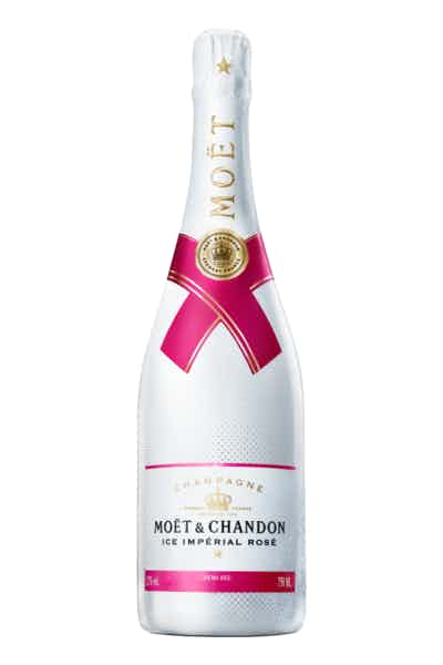 Moët & Chandon Ice Imperial Rosé Champagne Price & Reviews | Drizly