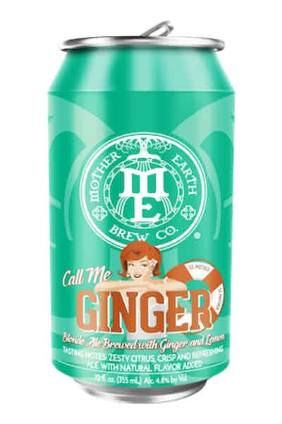 Mother Earth Call Me Ginger Blonde Ale
