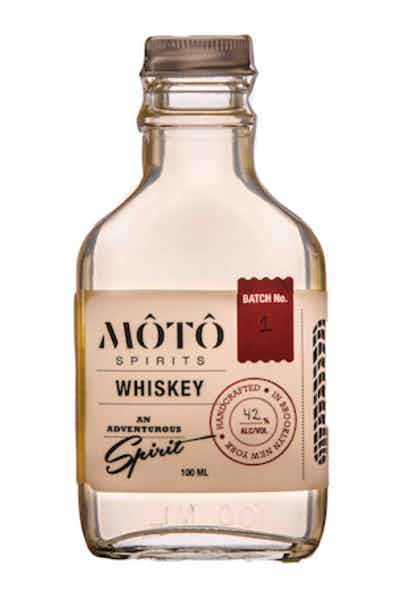 MOTO Spirits Traditional Unaged Rice Whiskey