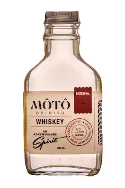 MOTO Spirits Traditional Unaged Rice Whiskey