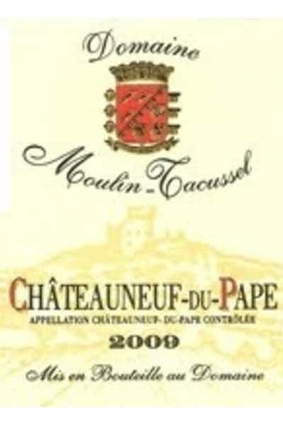 Moulin Tacussel Chateauneuf du Pape Blanc 2009