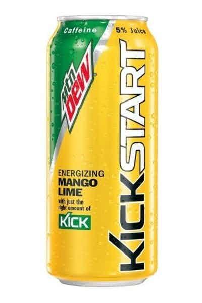 Mountain Dew Kickstart Mango Lime