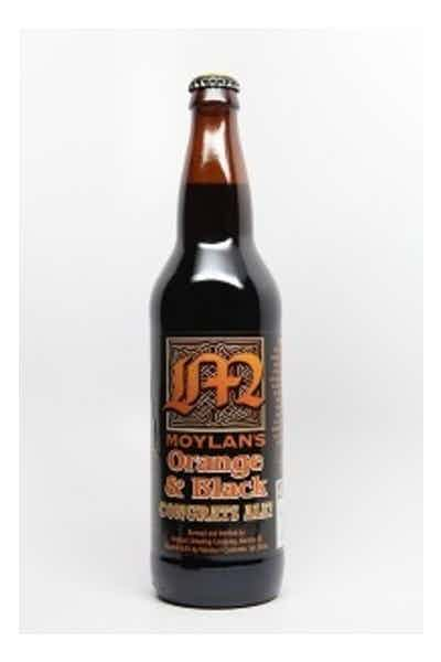 Moylans Orange & Black Congrats Ale!