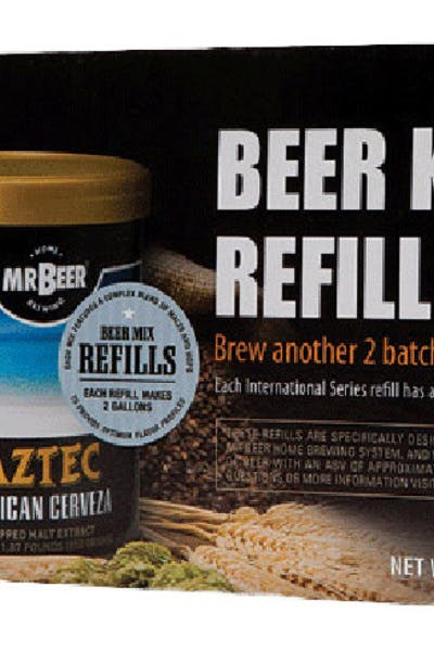 Mr. Beer Brew Pack Refill   International